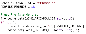 Random Friends Code Before
