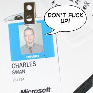 Microsoft employee Charlie