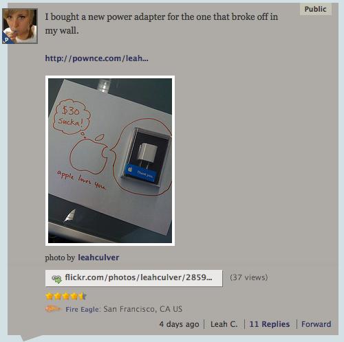 new apple power adapter