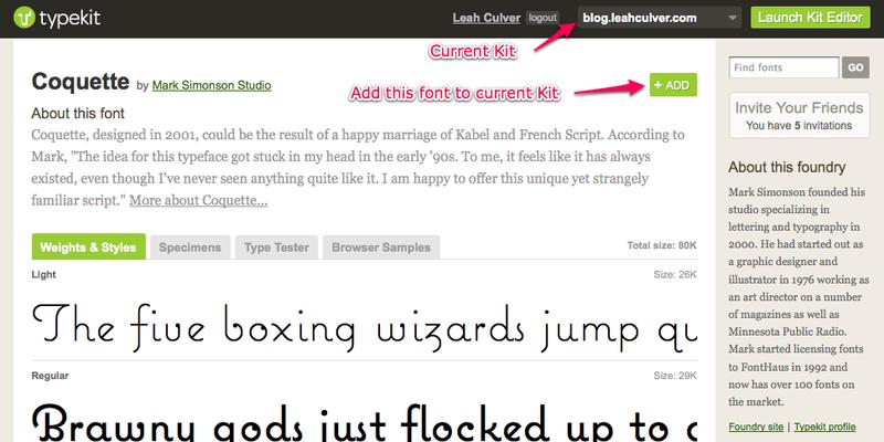 Typekit-add-font
