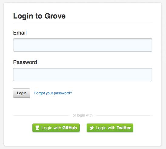 Grove-login